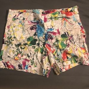 Express multi-colored shorts